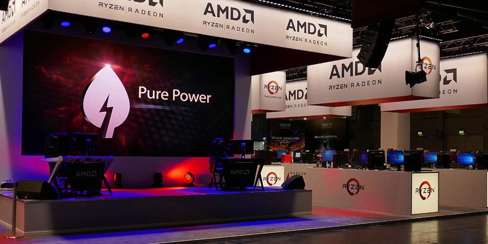 AMD GAMESCOM